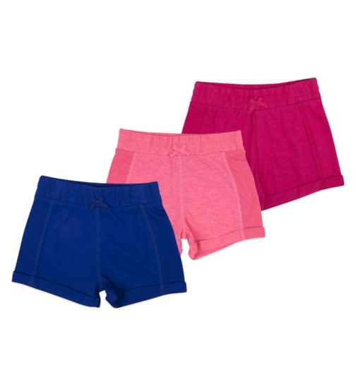 Mini Club Girls Shorts 3 Pack