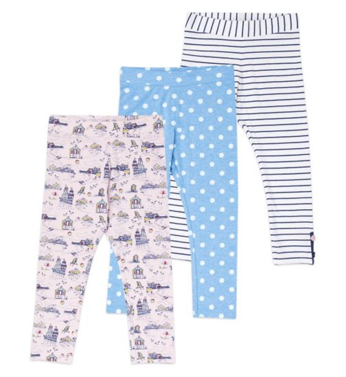 Mini Club Girls Leggings 3 Pack
