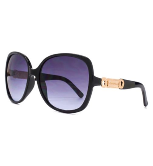Carvela Sunglasses Metal Link Trim Plastic