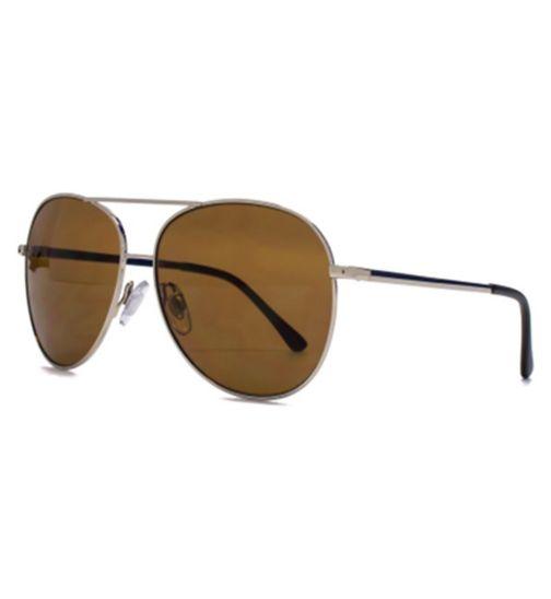 Monkey Monkey Gold Aviator Kids Sunglasses