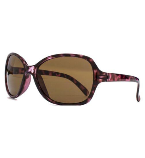 Monkey Monkey Purple Square Kids Sunglasses