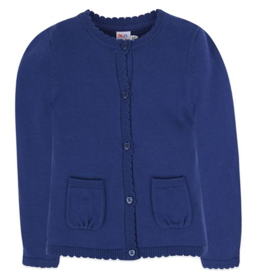 Mini Club Girls Cardigan Navy