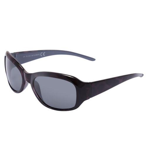Boots Polarised Womens Small Purple Tortoiseshell Sunglasses