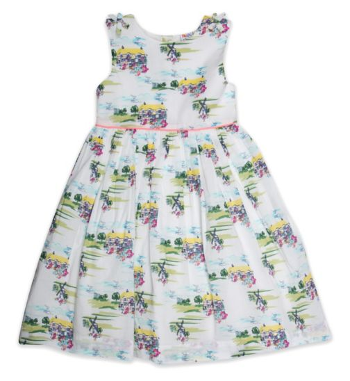 Mini Club Girls Sleeveless Dress Country