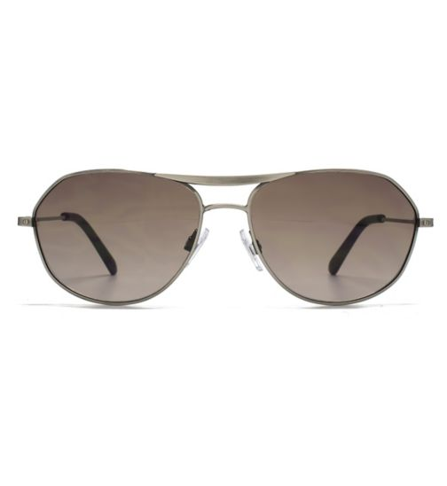 Ben Sherman Sunglasses Tapered Temple Metal Aviator