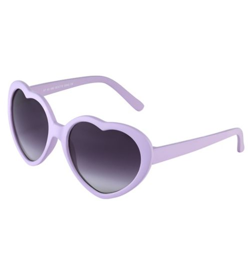 Boots Kids Lilac Heart Sunglasses