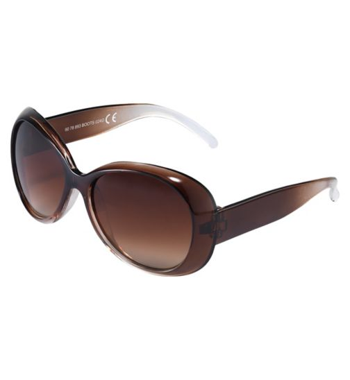 Boots Kids Crystal Brown Sunglasses