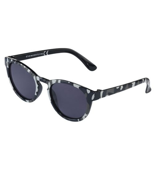 Boots Kids Camouflage Sunglasses