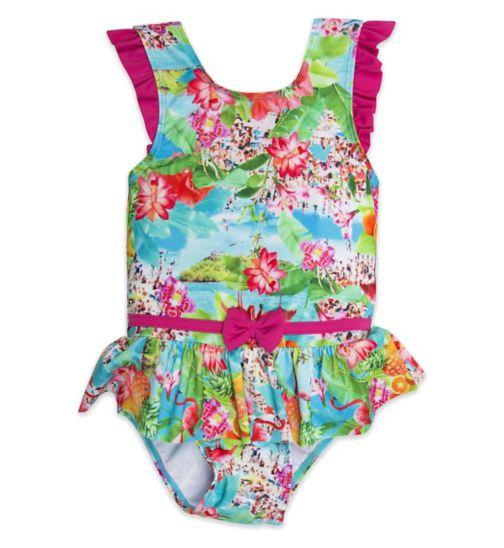 Mini Club Girls Swimsuit Tropical