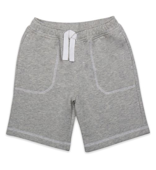Mini Club Boys Short Grey Marl