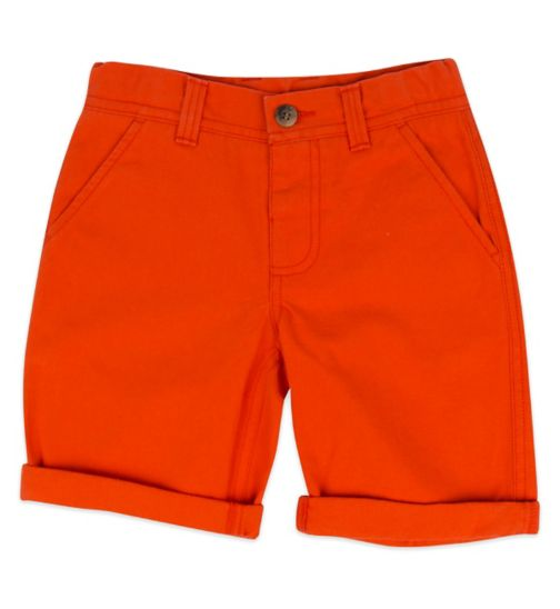 Mini Club Boys Chino Shorts Orange