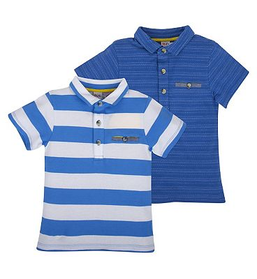 MC 2 B AS 2PK POLO/BLUE