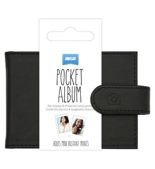 Shot2go mini instant album black