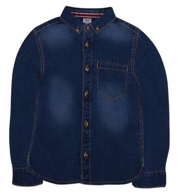 Mini Club  Boys Denim Shirt Blue