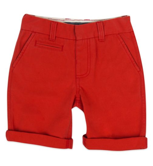 Mini Club  Boys Chino Short Red