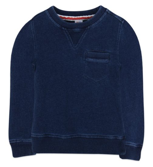 Mini Club Boys Sweat Blue Denim