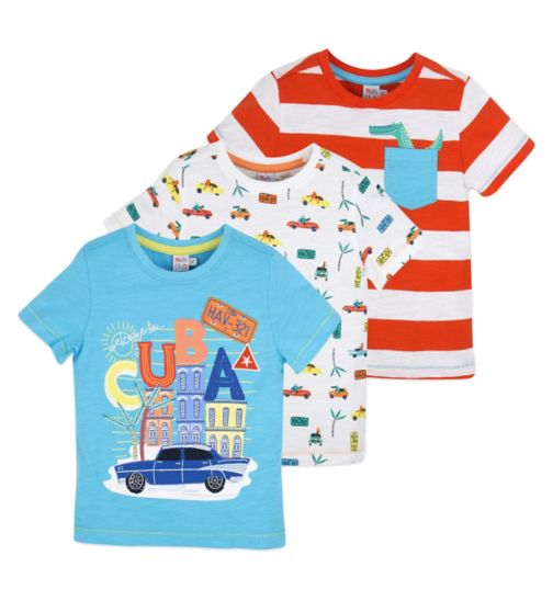 Mini Club Boys Tops 3 Pack
