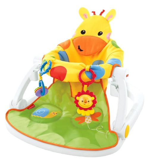 Fisher-Price Sit Me Up Floor Seat With Tray - Giraffe
