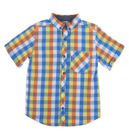 Mini Club Short Sleeve Shirt Multi Coloured