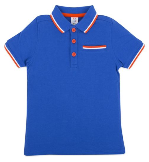 Mini Club Polo Shirt Blue