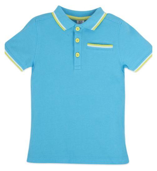 Mini Club Short Sleeve Polo Blue