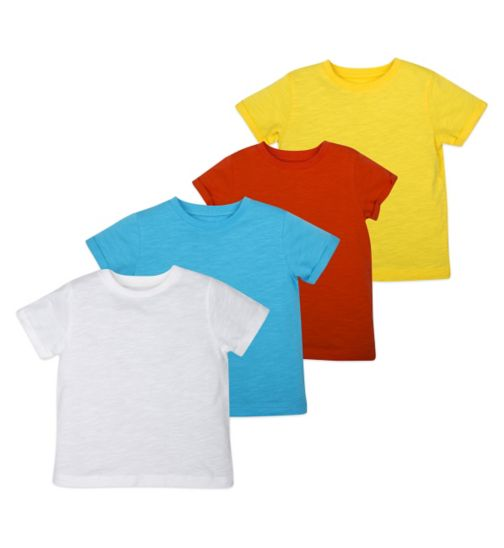 Mini Club Boys 4 Pack Short Sleeve Top