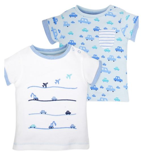 Mini Club Baby Short Sleeved Tops 2 Pack