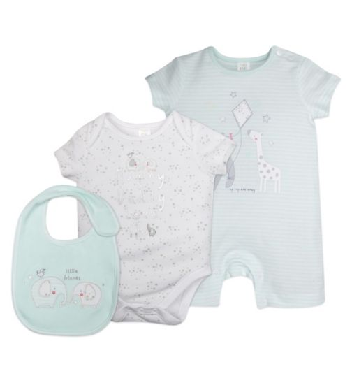 Mini Club 3 Piece Set Elephant