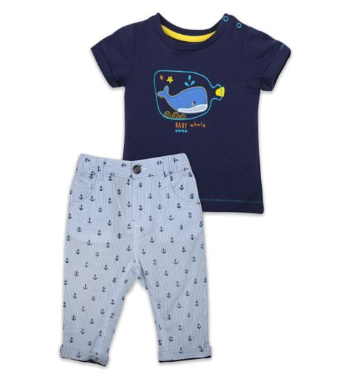 Mini Club Daywear Classic Top & Trouser Set