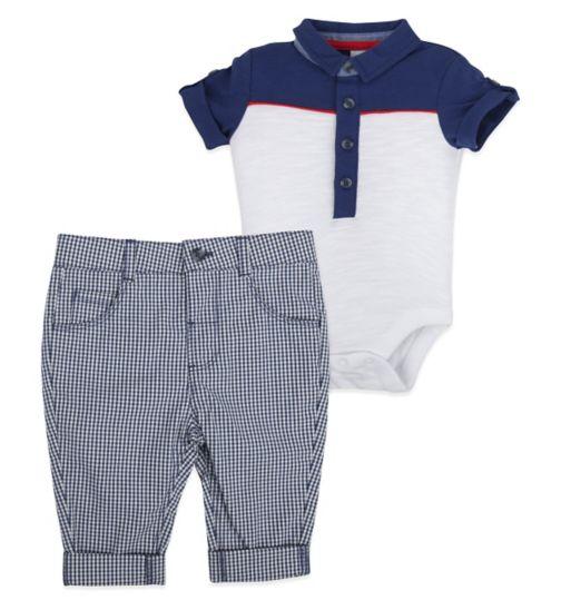 Mini Club Baby Boys 2 Piece Set Bodysuit and Short