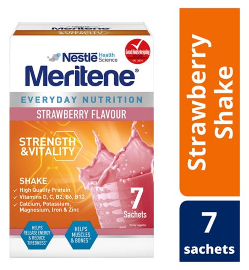 Meritene Strawberry Shake 7 x 30g