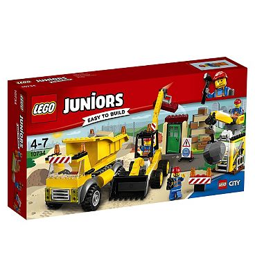 LEGO JUNIORS - Demolition Site10734