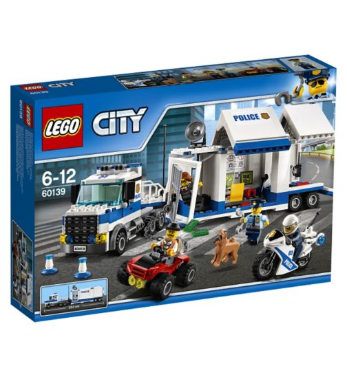 LEGO®  CITY - Mobile Command Canter 60139