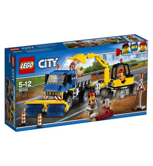LEGO® CITY - Sweeper + Excavator 60152