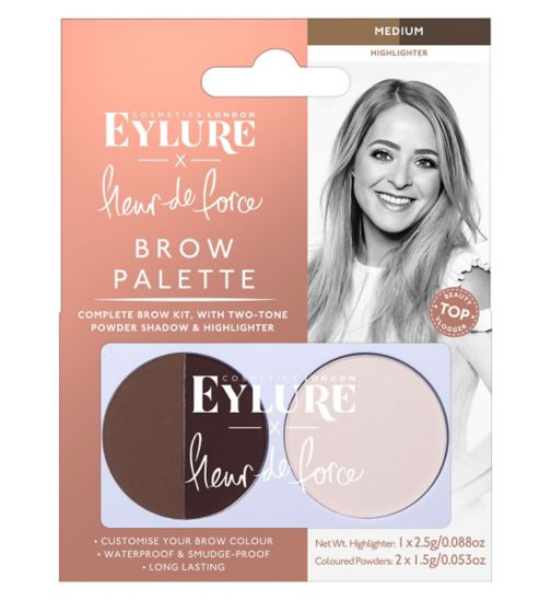 Eylure Fleur de Force by Eylure Brow Palette - Medium