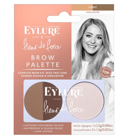 Fleur de Force by Eylure Brow Palette - Light