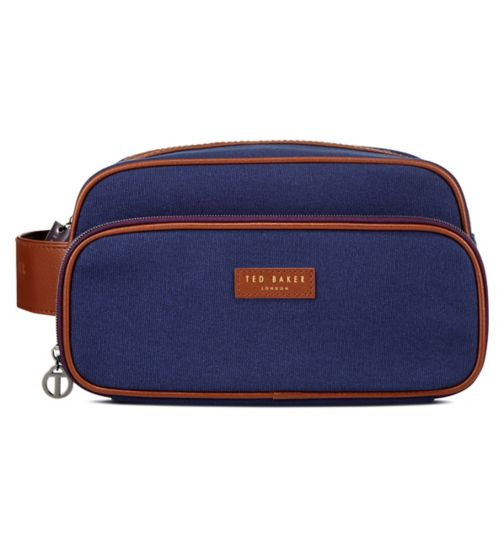 Ted Baker Mens Canvas Wash Bag SS17