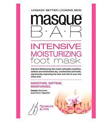 Masque Bar Intensive Moisturizing Foot Mask