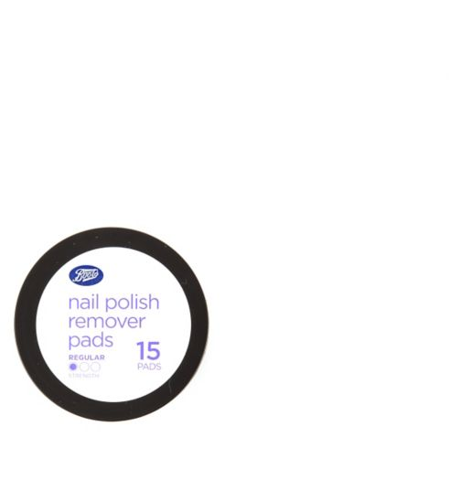 Boots Nail Polish Remover Pads 15