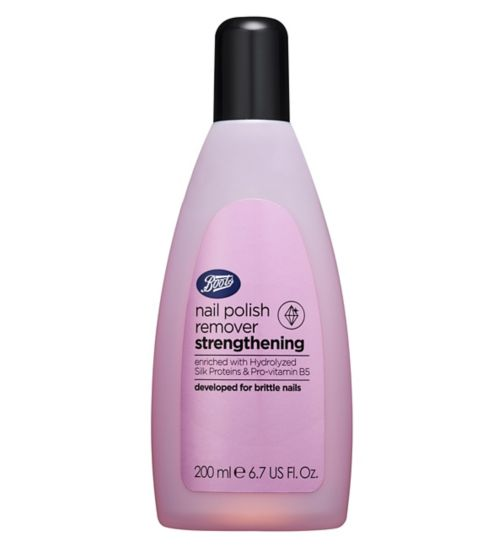 Boots Strengthening Nail Polish Remover 200ml