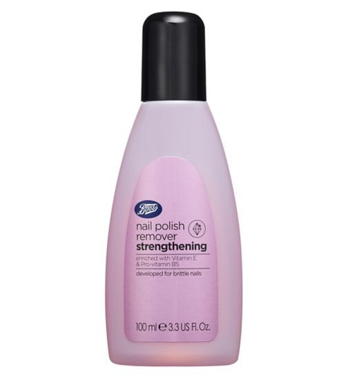 Boots Strengthening Nail Polish Remover 100ml