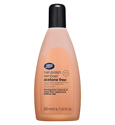 Boots Acetone Free Nail Polish Remover 200ml