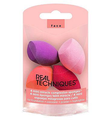 Real Techniques 4 mini sponges