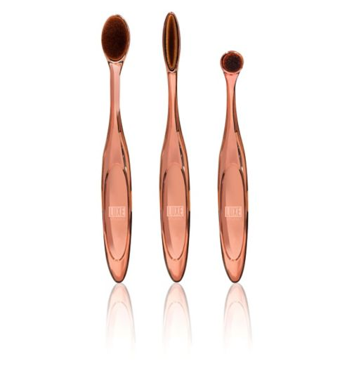 Luxe Studio K2 Set - The Everything Brush - 3 piece brush kit