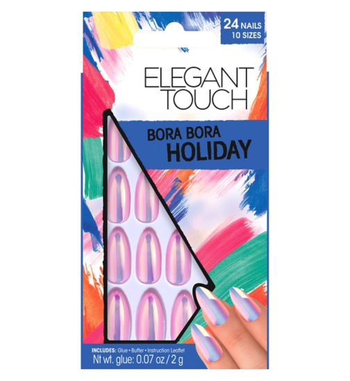 Elegant Touch Holiday Collection Bora Bora Nails