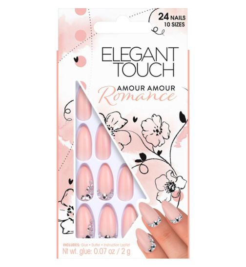 Elegant Touch Romance Collection Amour Amour Nails