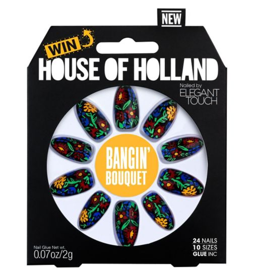 Elegant Touch House of Holland Bangin Bouquet Nails