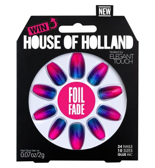 Elegant Touch House of Holland Foil Fade Nails