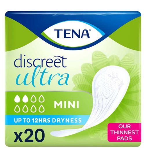 TENA Lady Discreet Mini 20 Pads