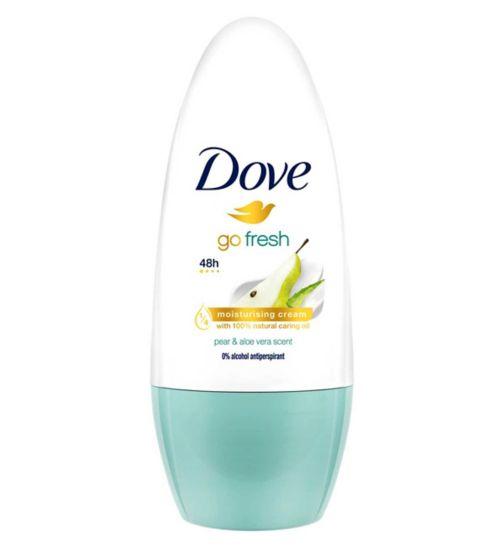 Dove Go Fresh Pear and Aloe Vera Anti-perspirant Deodorant Roll-on 50ml